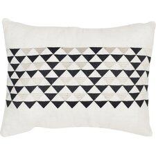 Geo Mountain Linen Lumbar Pillow (Set of 2)