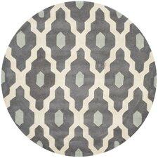 Chatham Dark Gray/Ivory Moroccan Area Rug