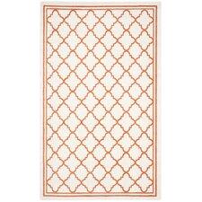 Amherst Beige/Orange Indoor/Outdoor Area Rug