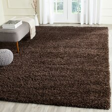 California Shag Brown Area Rug