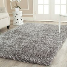 Paris Shag Grey Area Rug