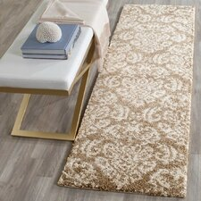Florida Shag Beige/Cream Area Rug