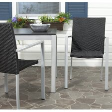 Cordova Stacking Dining Arm Chair (Set of 2)