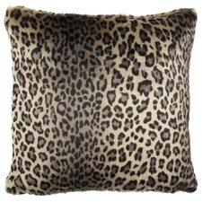 Faux Leopard Throw Pillow