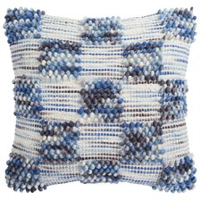 Square Spaced Looped Throw Pillow