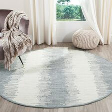 Montauk Grey Abstract Area Rug