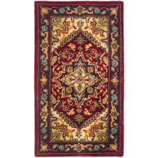 Heritage Red & Yellow Oriental Area Rug