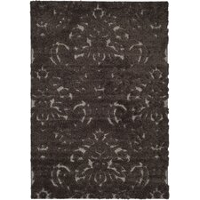 Florida Shag Dark Smoke Area Rug