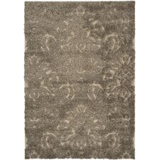 Florida Shag Light Smoke/Beige Area Rug