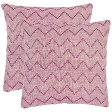 Victor Decorative Cotton Throw Pillow (Set of 2)