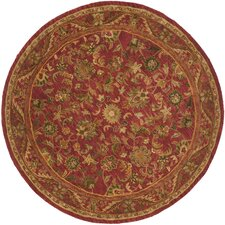 Antiquity Majesty Red Area Rug