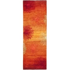 Soho Rust & Orange Area Rug