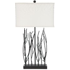 """Abigail Wrought 30.5"""" H Table Lamp with Rectangular Shade"""