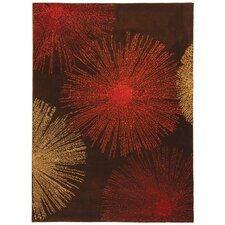 Soho Brown Handmade Area Rug