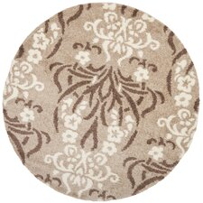 Florida Shag Light Beige Area Rug