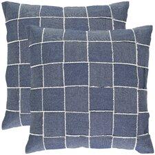 Leonardo Cotton Throw Pillow (Set of 2)