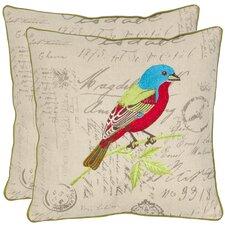 Becca Cotton Throw Pillow (Set of 2)