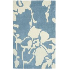 Modern Art Blue/Ivory Rug