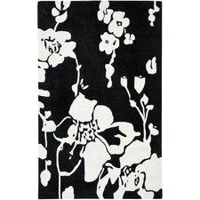 Modern Art Black/Ivory Rug