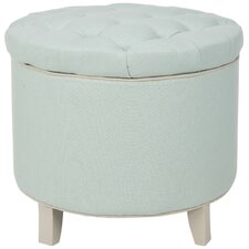 Rocco Upholstered Storage Ottoman