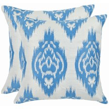 Grant Cotton Throw Pillow (Set of 2)