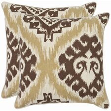 Joyce Cotton Throw Pillow (Set of 2)