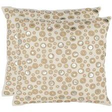 Bianca Cotton Throw Pillow (Set of 2)