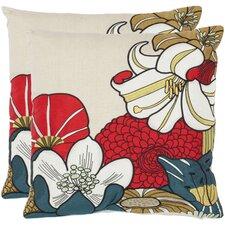 Jett Cotton Throw Pillow (Set of 2)