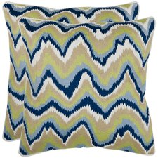 Bali Decorative Cotton Pillow (Set of 2)