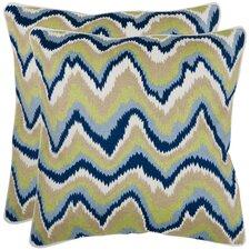 Bali Cotton Throw Pillow (Set of 2)
