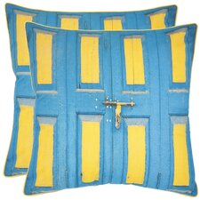 Nador Cotton Throw Pillow (Set of 2)