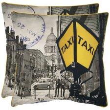Belgrade Cotton Throw Pillow (Set of 2)