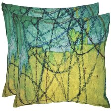 Volos Cotton Throw Pillow (Set of 2)