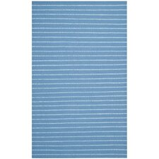 Dhurries Blue Area Rug