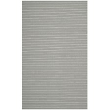 Dhurries Grey Area Rug