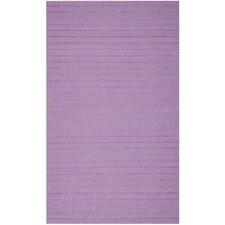 Dhurries Lavender Area Rug
