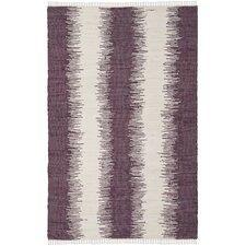 Montauk Purple Abstract Rug