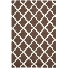 Cambridge Dark Brown & Ivory Area Rug