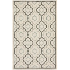 Courtyard Digitas Beige Indoor/Outdoor Area Rug