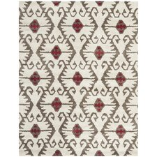 Wyndham Ivory Brown Area Rug