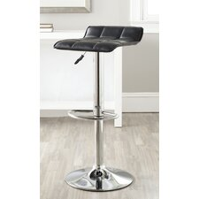 Lamita Adjustable Height Swivel Bar Stool with Cushion