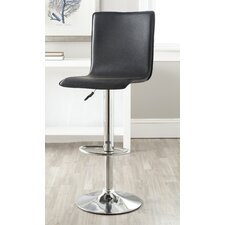 Magda Adjustable Height Swivel Bar Stool with Cushion