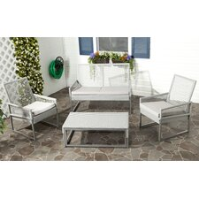 Shawmont 4 Piece Deep Seating Group with Cushions