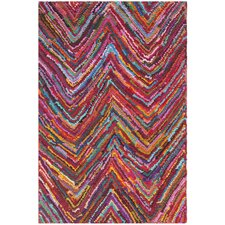 Nantucket Chevron Area Rug