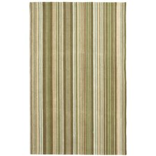 Newport Brown Striped Area Rug