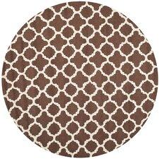 Cambridge Dark Brown/Ivory Area Rug