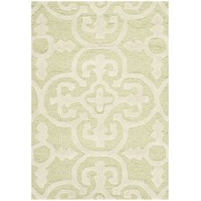 Cambridge Light Green & Ivory Area Rug