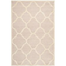 Cambridge Trellis Light Pink & Ivory Area Rug
