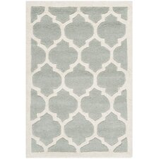 Chatham Light Blue & Ivory Moroccan Area Rug