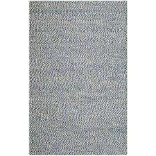 Natural Fiber Blue/Ivory Area Rug